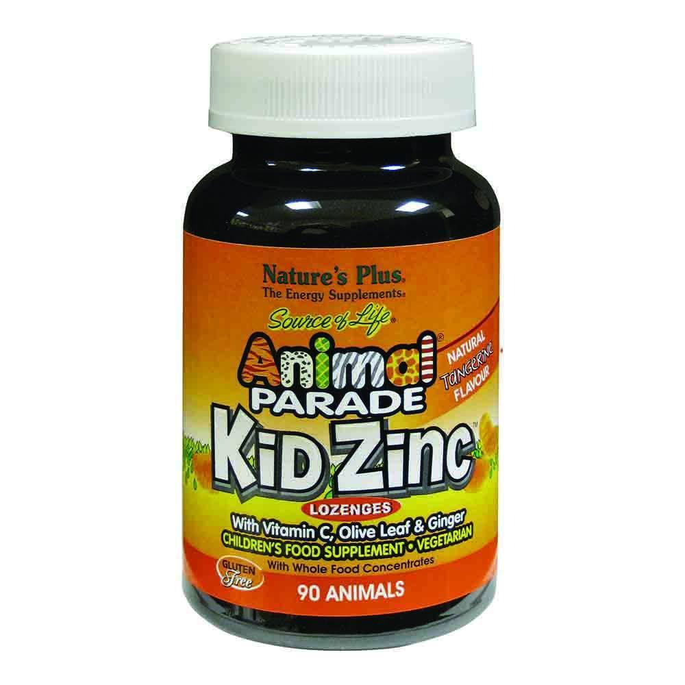 Natures Plus Animal Parade Kidzinc 90 Chewables - Lifestyle Labs
