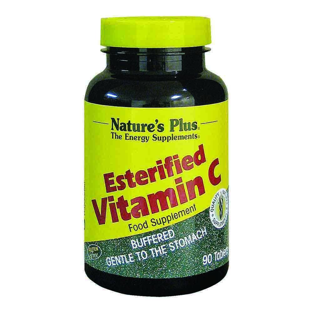 Natures Plus Esterified Vitamin C 675 mg 90 Tablets - Lifestyle Labs