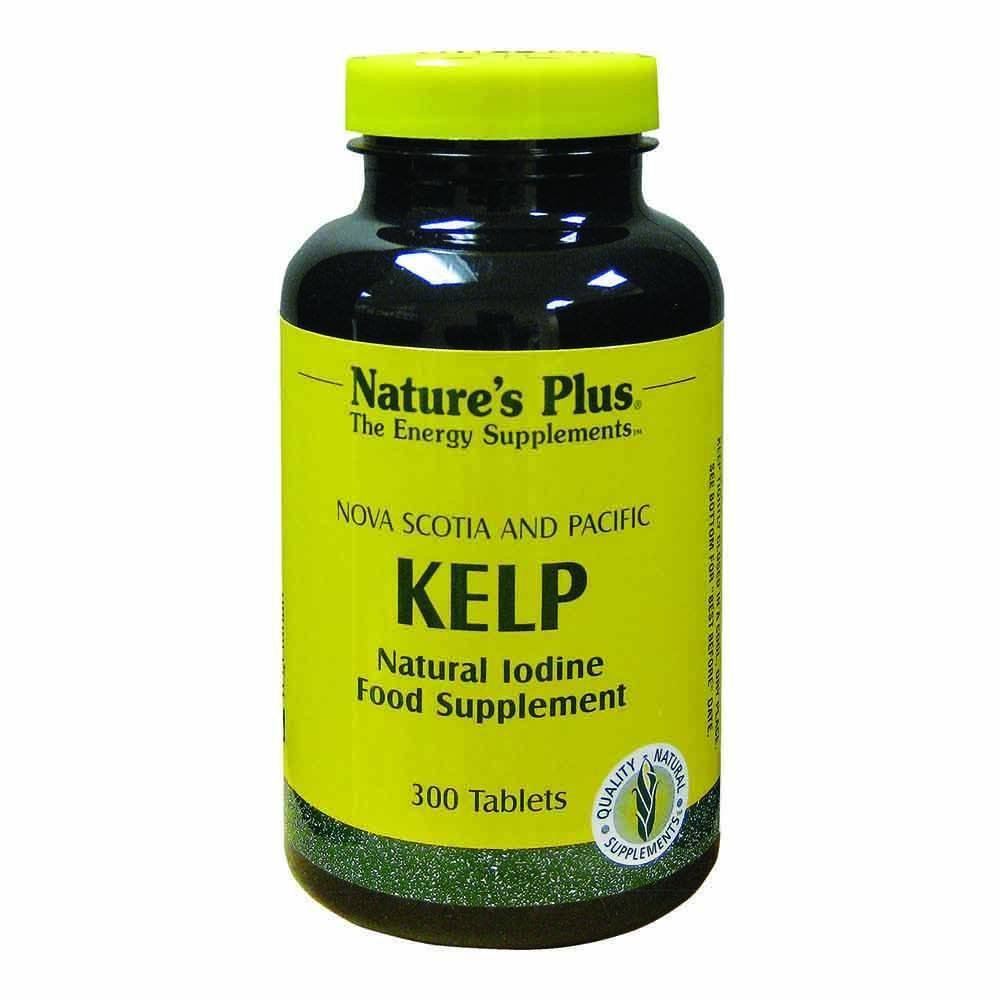 Natures Plus Kelp 300 Tablets - Lifestyle Labs