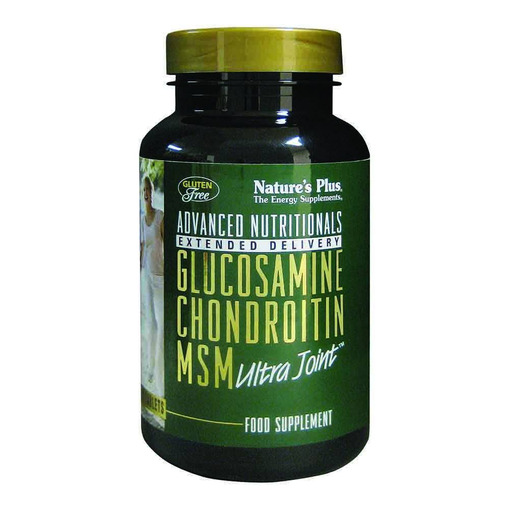 Natures Plus RX Joint Glucosamine, Chondroitin and MSM 90 Tablets - Lifestyle Labs