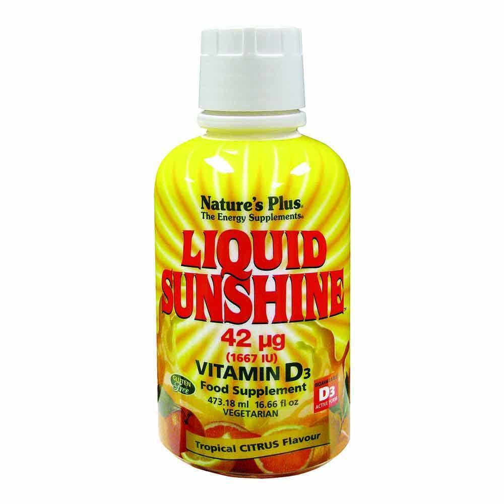 Natures Plus Vitamin D3 5,000 IU 473 ml Liquid - Lifestyle Labs