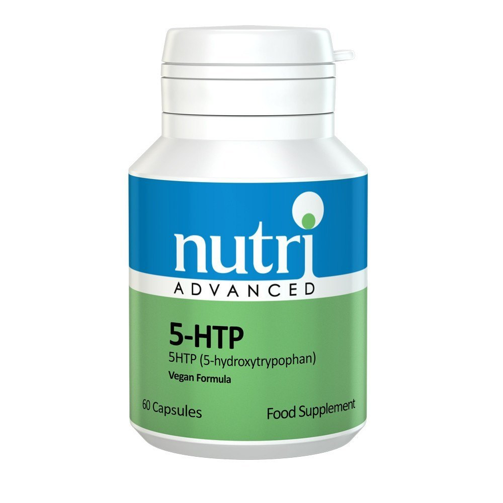 Nutri Advanced 5-HTP 50 mg 60 Capsules - Lifestyle Labs
