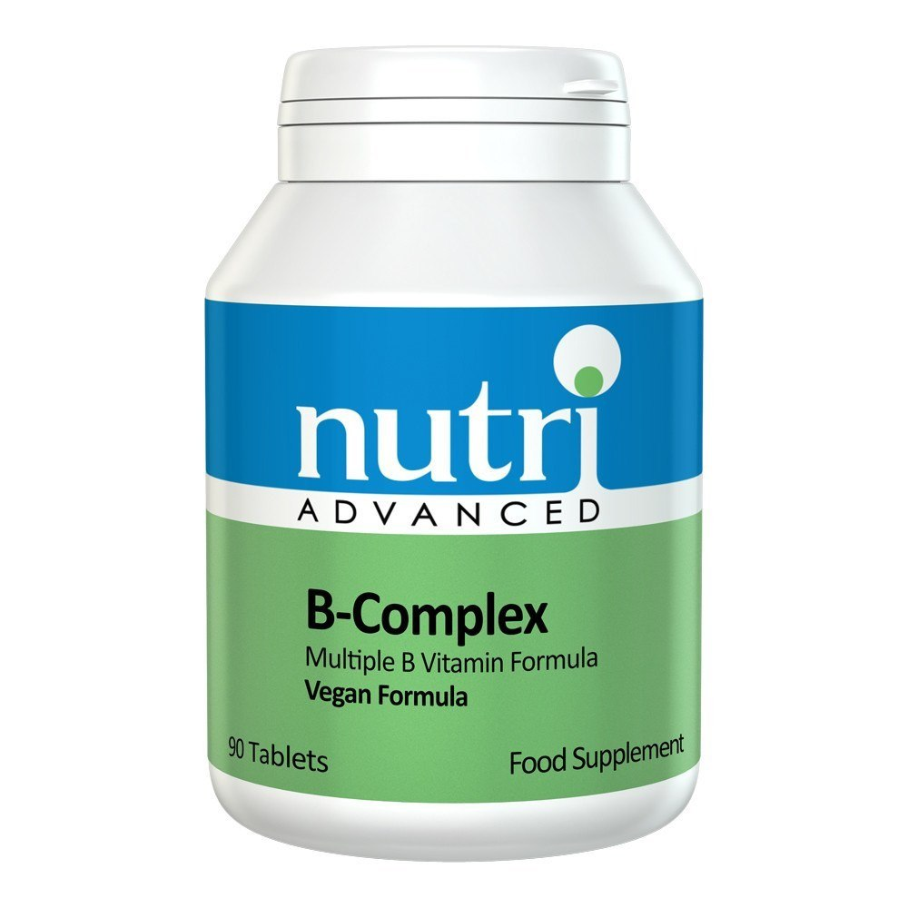 Nutri Advanced B Complex 90 Tablets - Lifestyle Labs