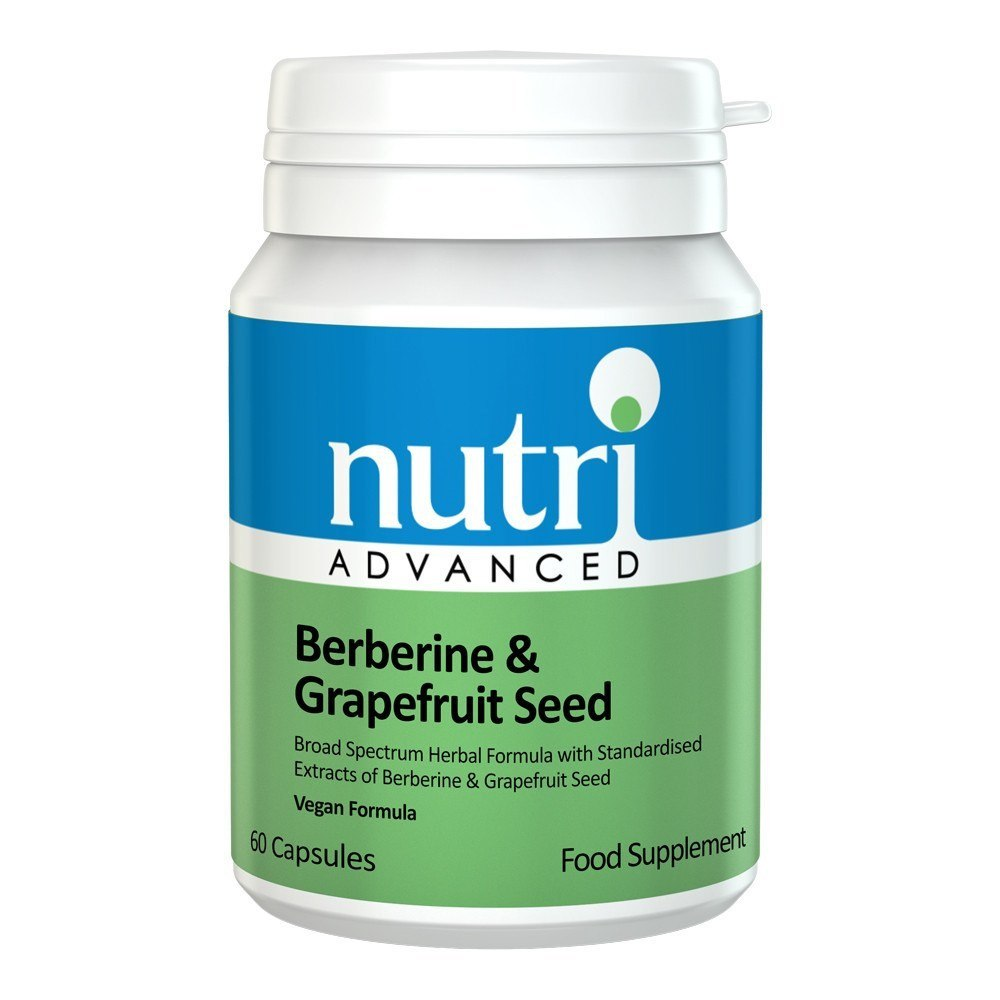Nutri Advanced Berberine & Grapefruit Seed 60 Capsules - Lifestyle Labs
