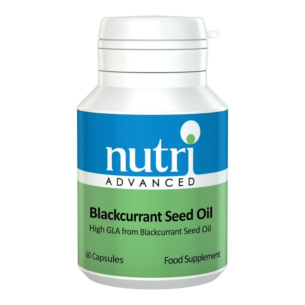 Nutri Advanced Blackcurrant Seed Oil 500 mg 60 Capsules - Lifestyle Labs