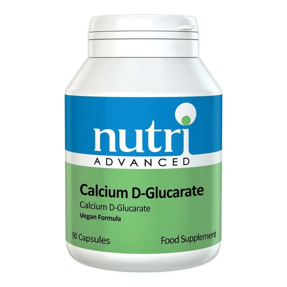Nutri Advanced Calcium D-Glucarate 90 Capsules - Lifestyle Labs