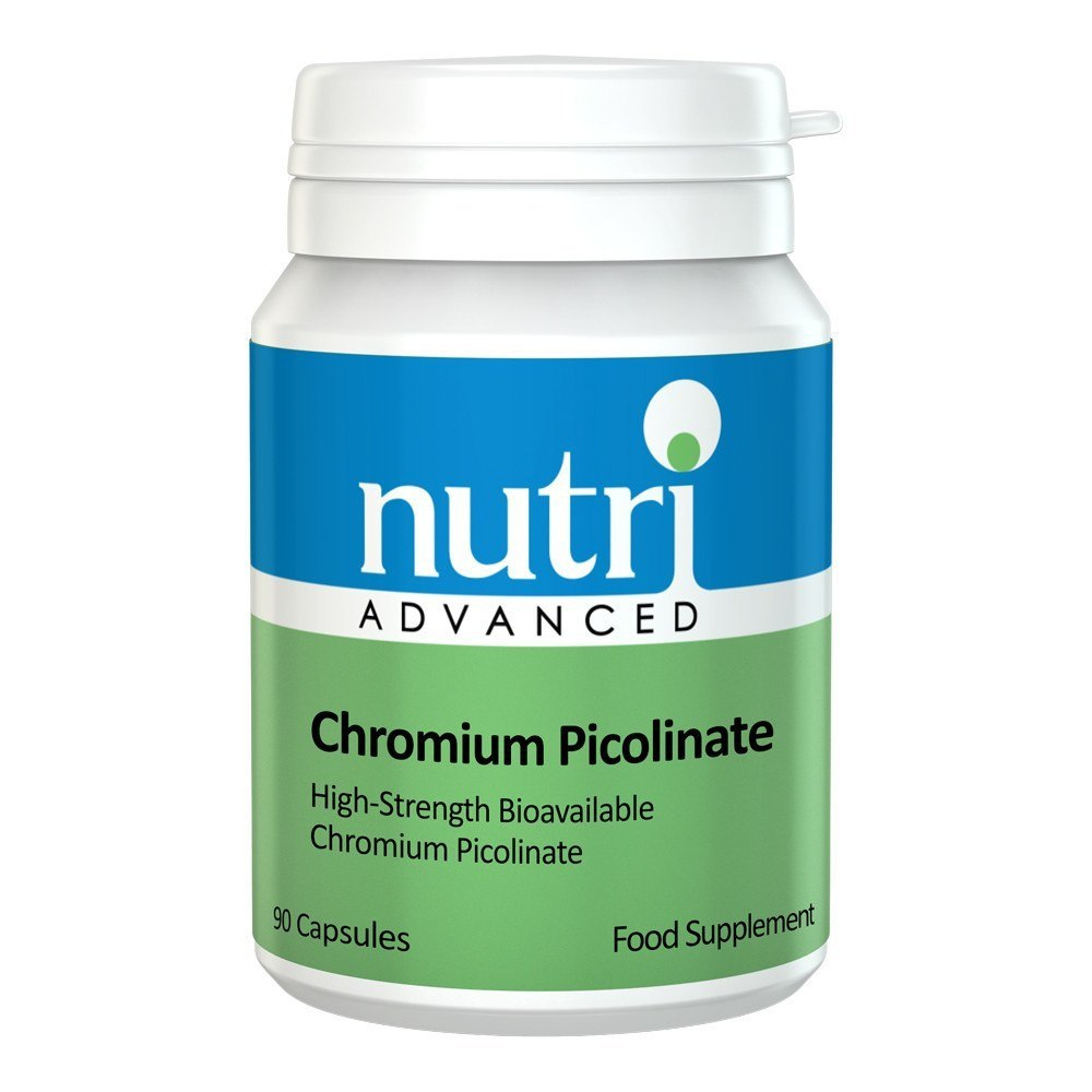 Nutri Advanced Chromium Picolinate 200 mcg 90 Capsules - Lifestyle Labs