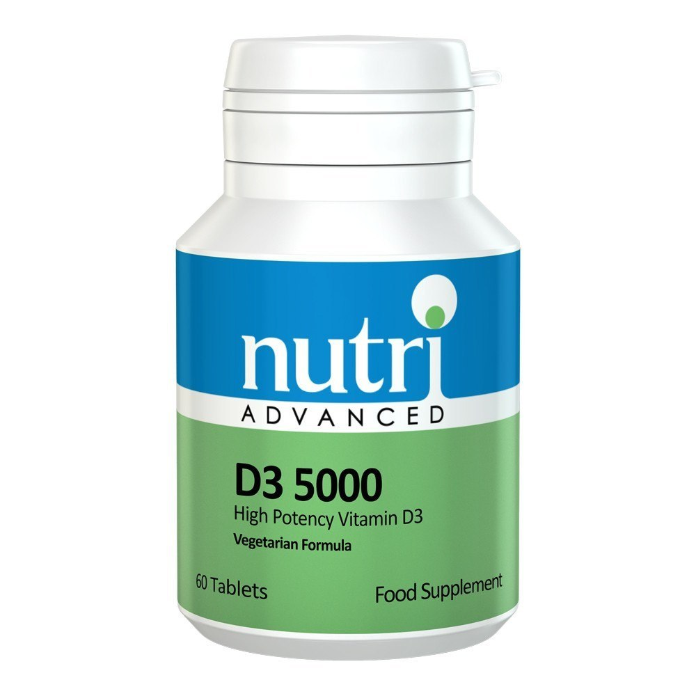 Nutri Advanced D3 5000 IU 60 Tablets - Lifestyle Labs