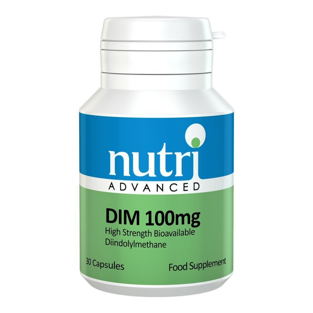 Nutri Advanced DIM 100 mg 30 Capsules - Lifestyle Labs