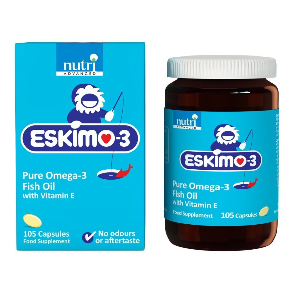 Nutri Advanced Eskimo-3 105 Capsules - Lifestyle Labs