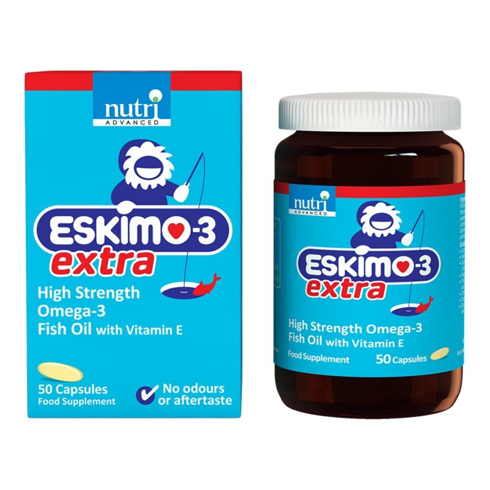 Nutri Advanced Eskimo®-3 Extra 50 Capsules - Lifestyle Labs