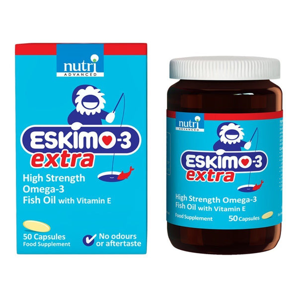 Nutri Advanced Eskimo-3 Extra 50 Capsules - Lifestyle Labs