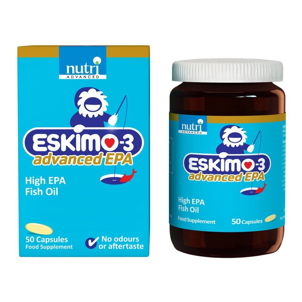 Nutri Advanced Eskimo Advanced EPA 50 Capsules - Lifestyle Labs