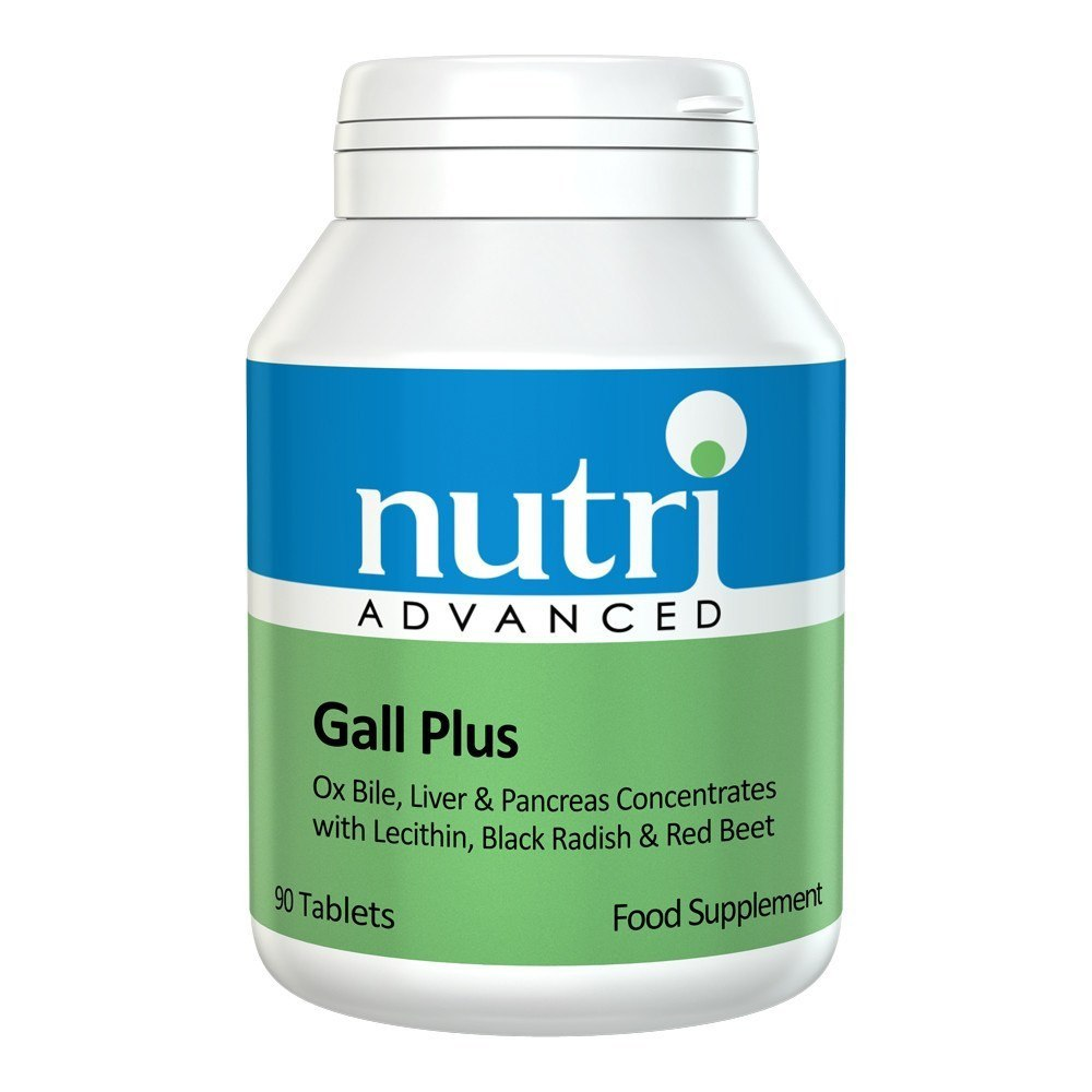 Nutri Advanced Gall Plus 90 Tablets - Lifestyle Labs