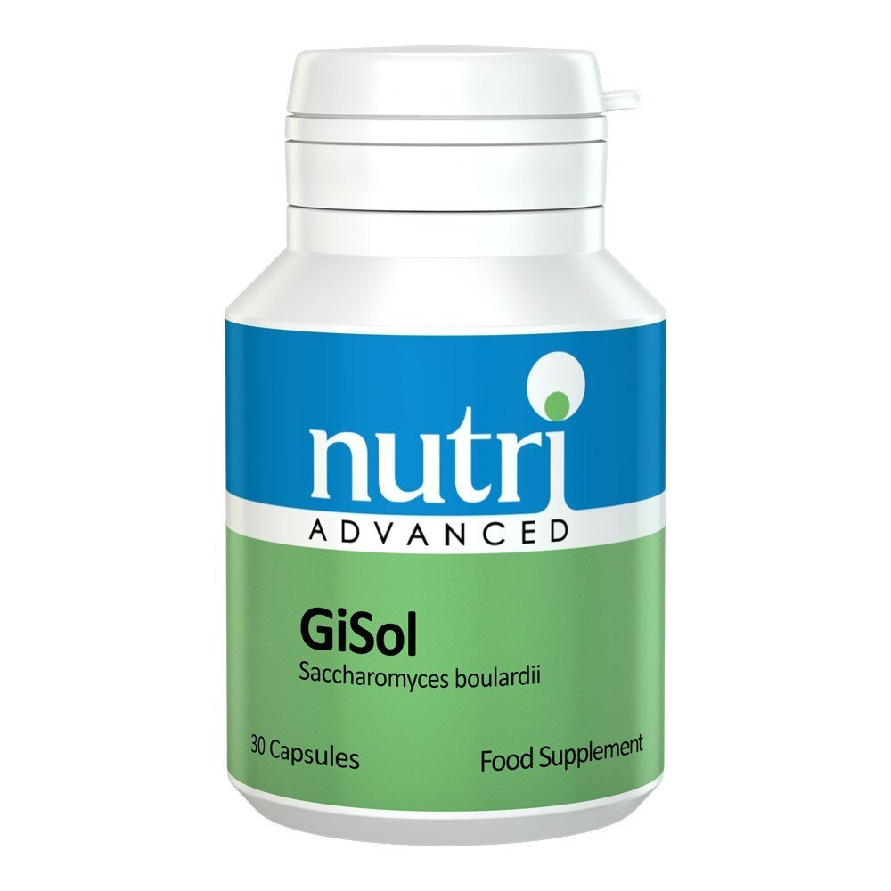 Nutri Advanced GiSol 30 Capsules - Lifestyle Labs