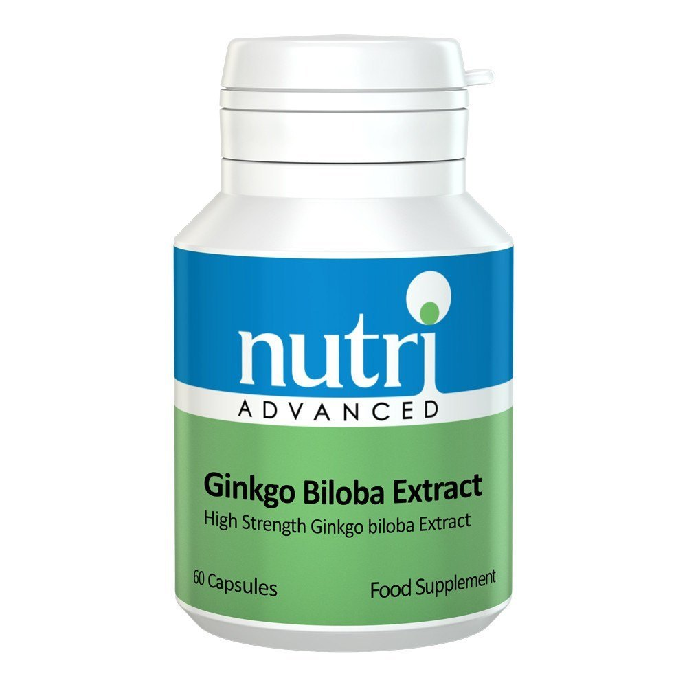 VMS - Nutri Advanced Ginkgo Biloba Extract 40 Mg 60 Capsules