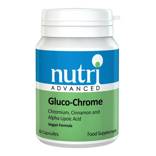 Nutri Advanced Gluco-Chrome 60 Capsules - Lifestyle Labs