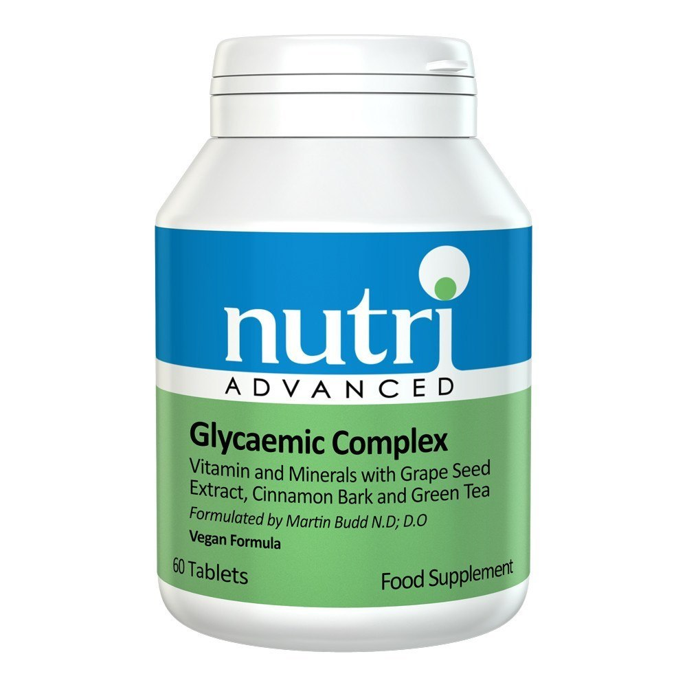 Nutri Advanced Glycaemic Complex 90 Tablets - Lifestyle Labs