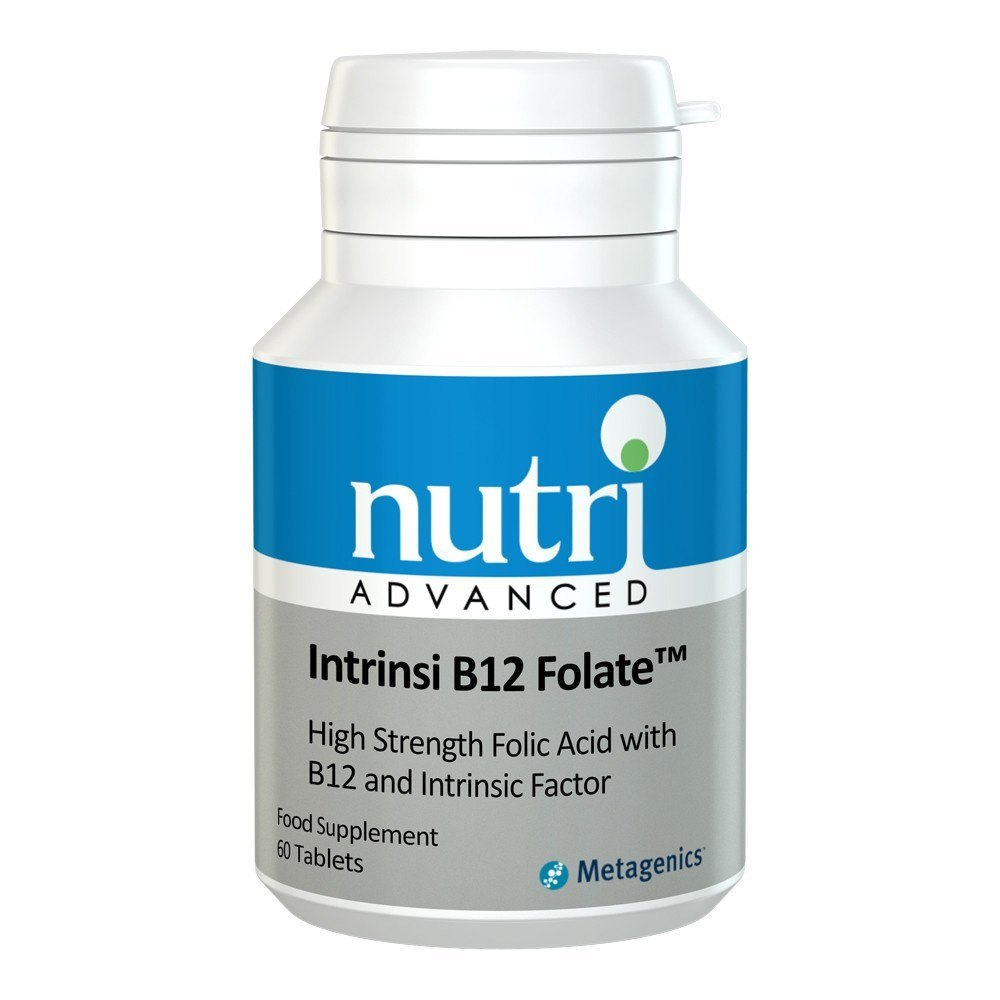 Nutri Advanced Intrinsi B12/Folate™ 60 Tablets - Lifestyle Labs