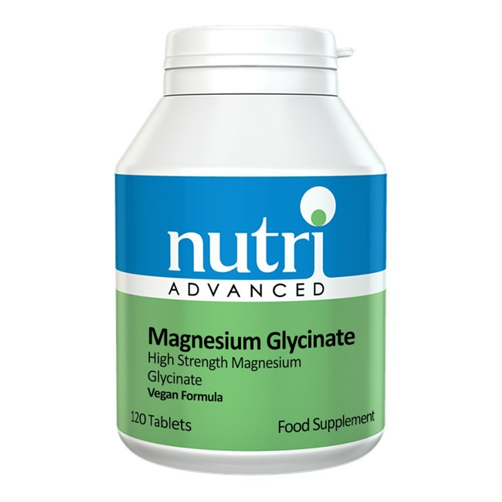 Nutri Advanced Magnesium Glycinate 100 mg 120 Tablets - Lifestyle Labs