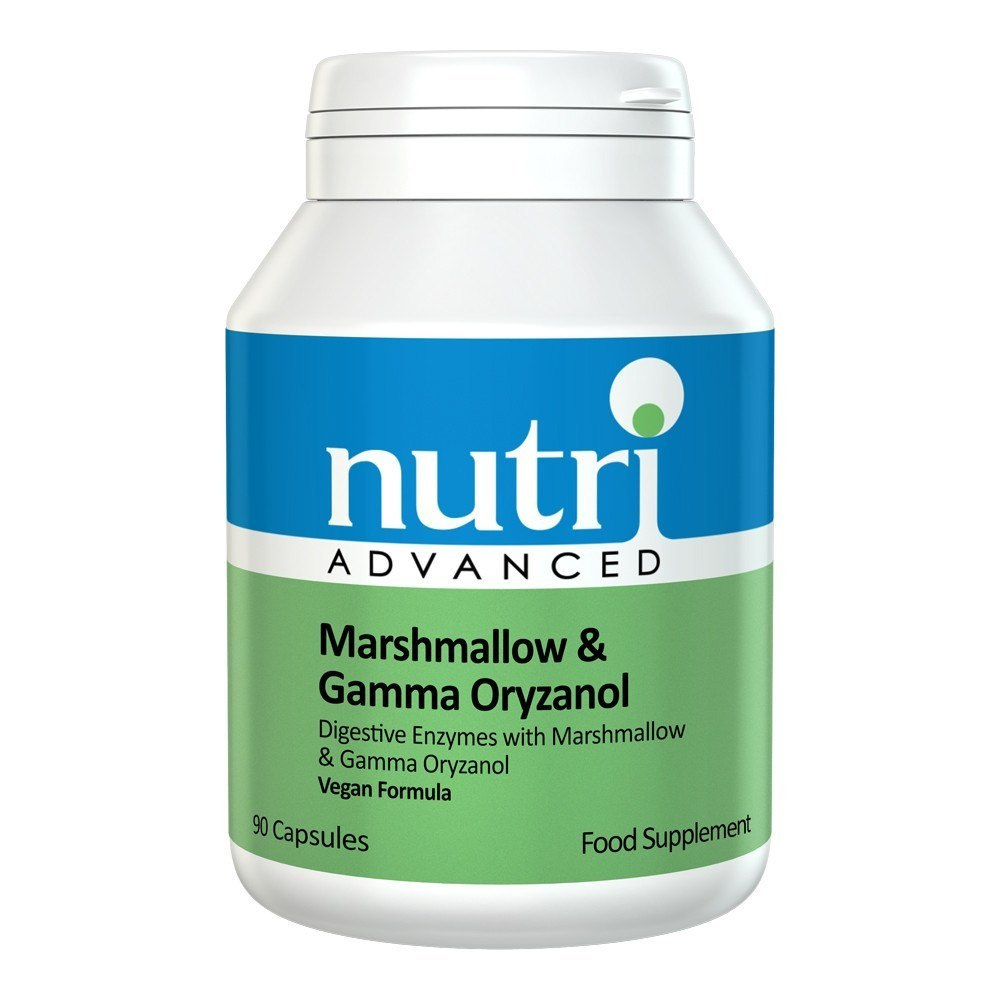 Nutri Advanced Marshmallow & Gamma Oryzanol 90 Capsules - Lifestyle Labs