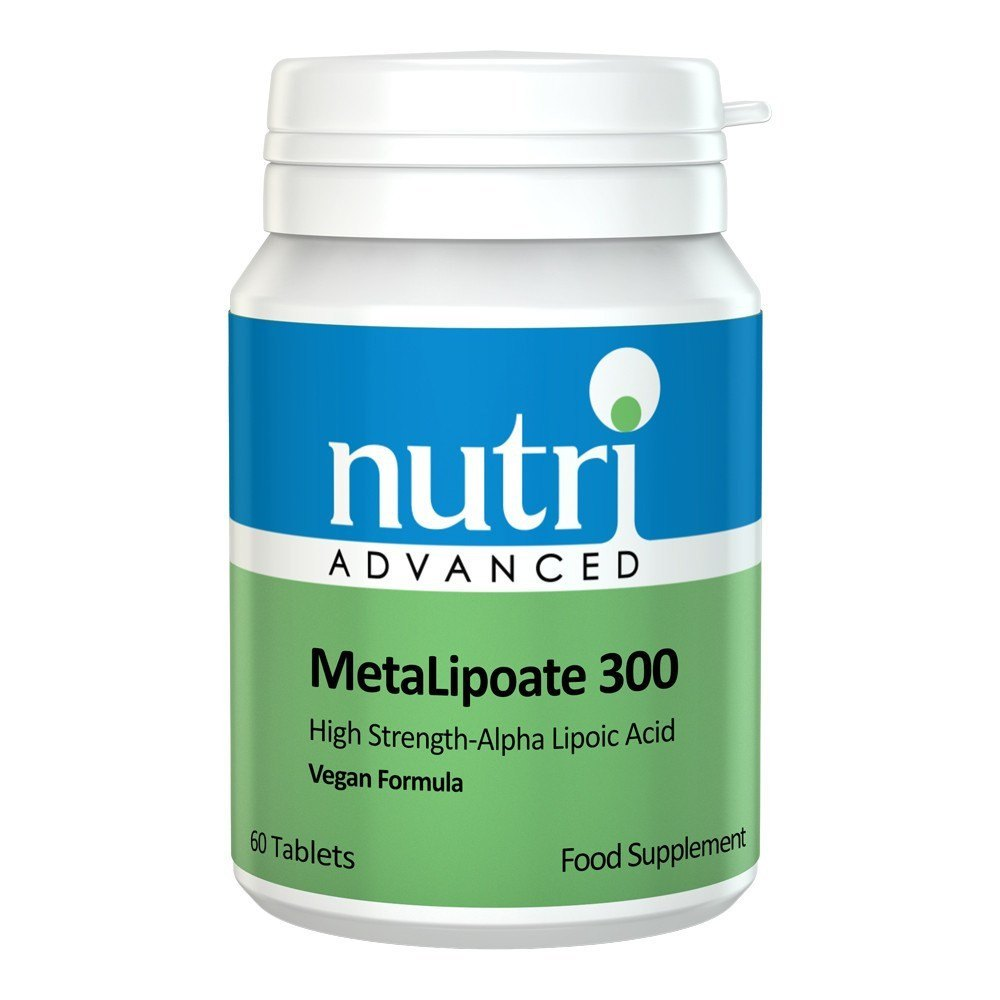 Nutri Advanced MetaLipoate ALA 300 mg 60 Tablets - Lifestyle Labs