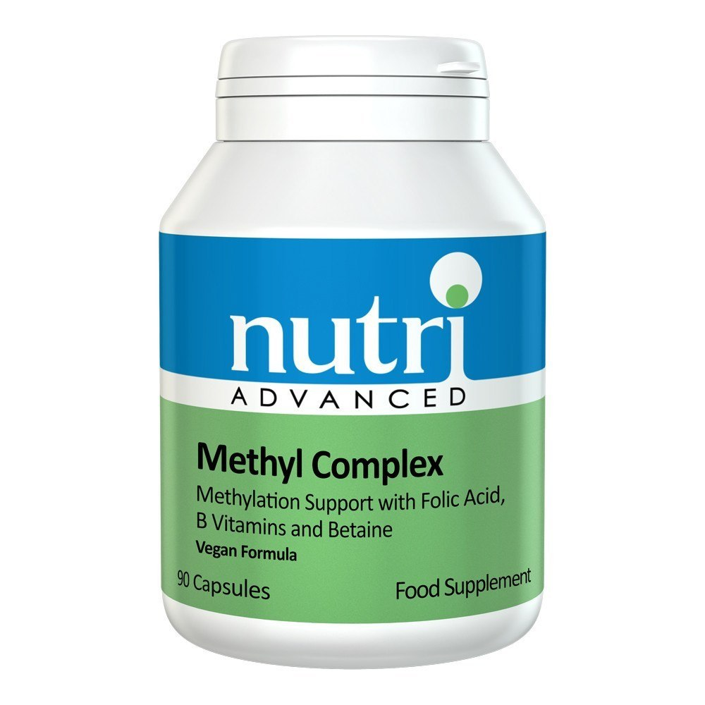 Nutri Advanced Methyl Complex 90 Capsules - Lifestyle Labs