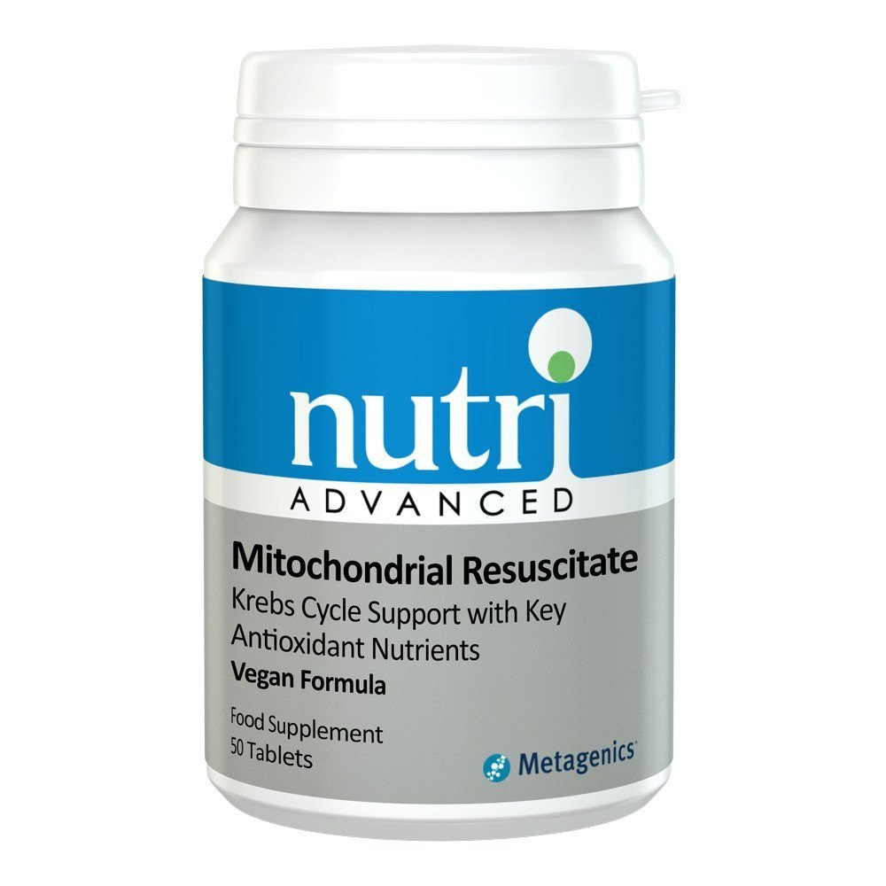 Nutri Advanced Mitochondrial Resuscitate 50 Tablets - Lifestyle Labs