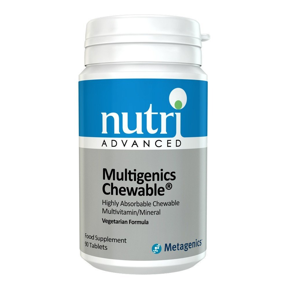 Nutri Advanced Multigenics 90 Chewables - Lifestyle Labs