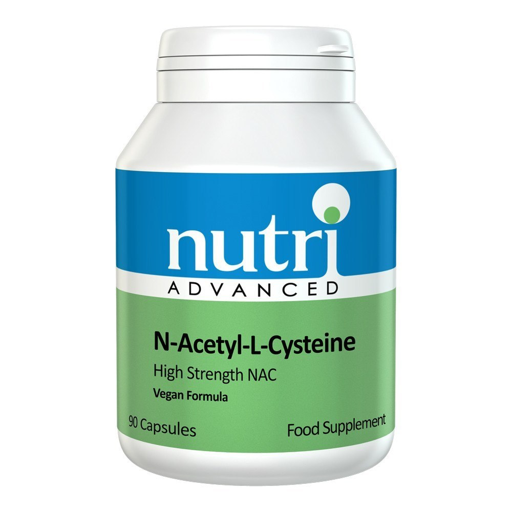 Nutri Advanced NAC 500 mg 90 Capsules - Lifestyle Labs