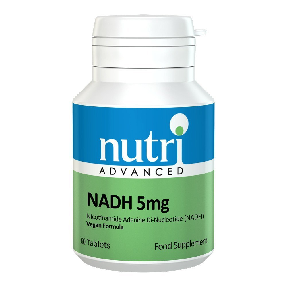 Nutri Advanced NADH 5 mg 60 Tablets - Lifestyle Labs