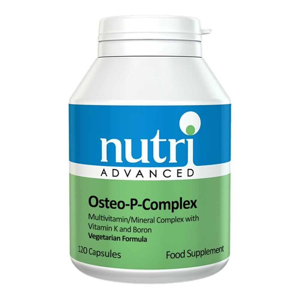 Nutri Advanced Osteo-P-Complex 120 Capsules - Lifestyle Labs
