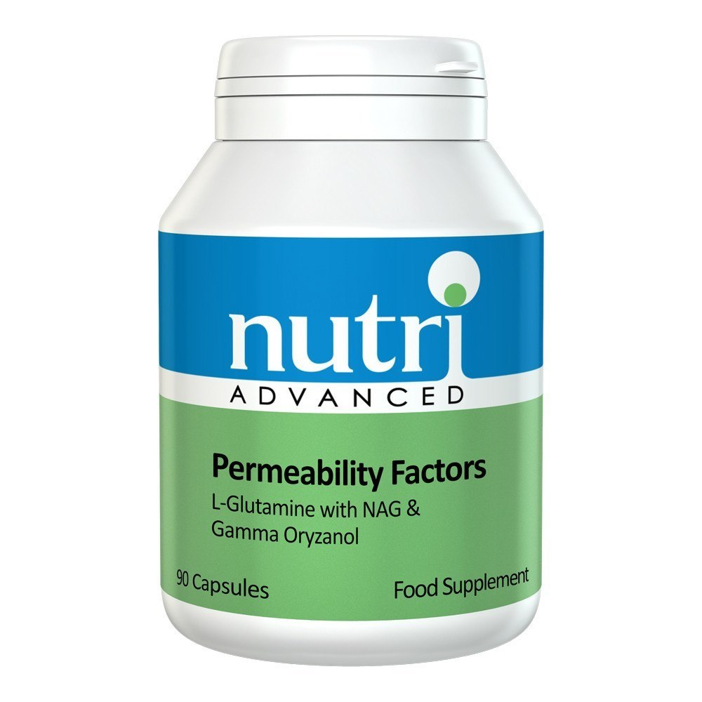 Nutri Advanced Permeability Factors 90 Capsules - Lifestyle Labs