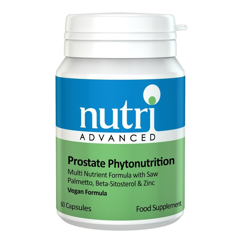 Nutri Advanced Prostate Phytonutrition 60 Capsules - Lifestyle Labs