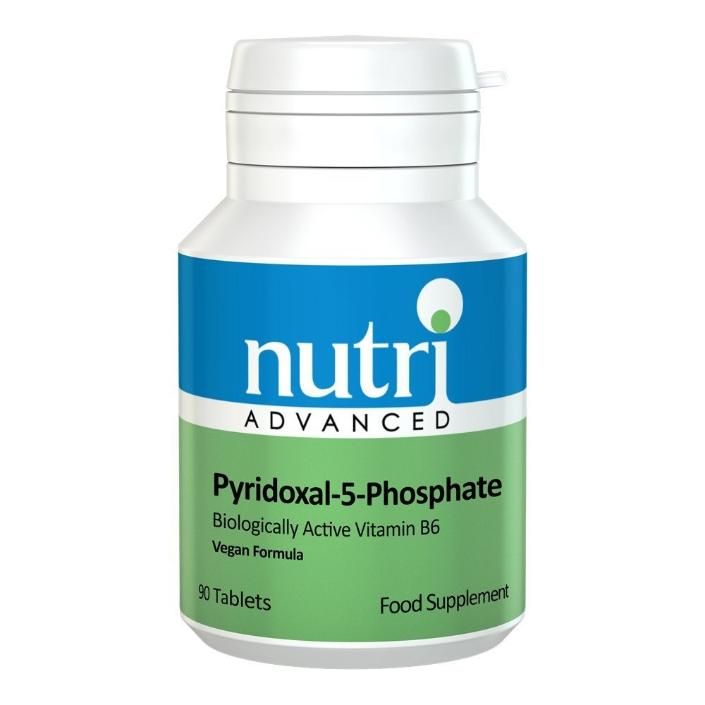 Nutri Advanced Pyridoxal-5-Phosphate 25 mg 90 Tablets - Lifestyle Labs