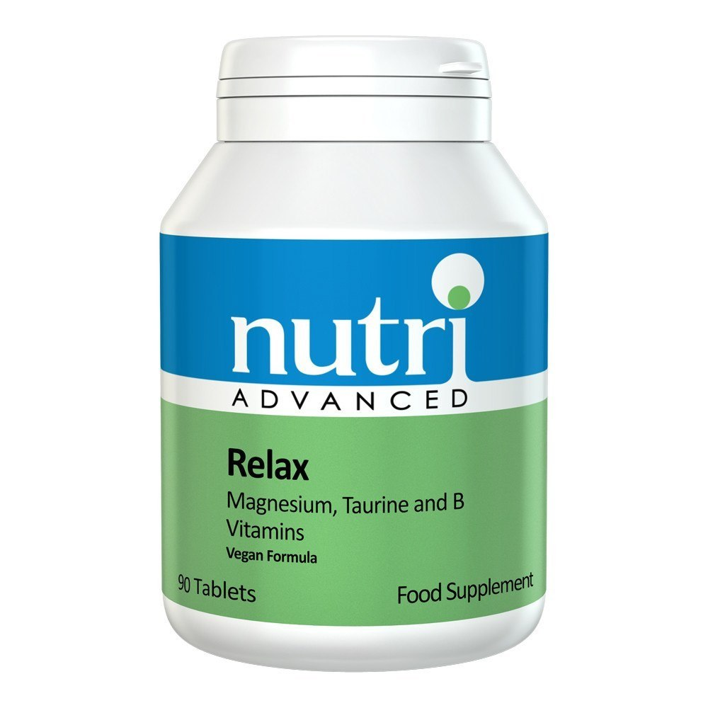 Nutri Advanced Relax 90 Tablets - Lifestyle Labs