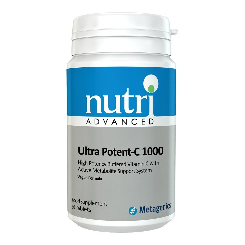 Nutri Advanced Ultra Potent-C Vitamin C 1000 mg 90 Tablets - Lifestyle Labs