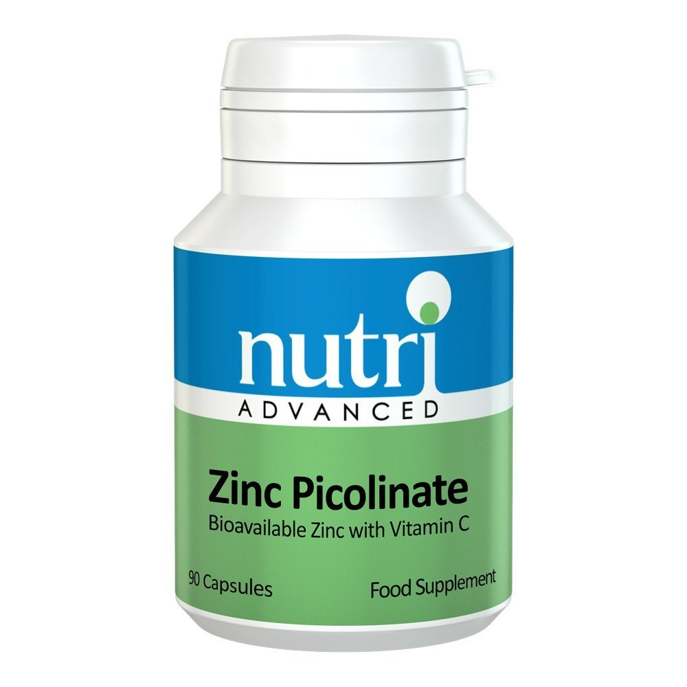 Nutri Advanced Zinc Picolinate 15 mg 90 Capsules - Lifestyle Labs
