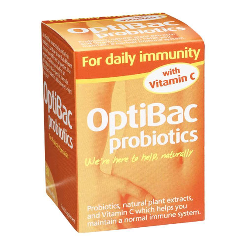 OptiBac Probiotics For Daily Immunity 2.5 Billion 30 Capsules - Lifestyle Labs