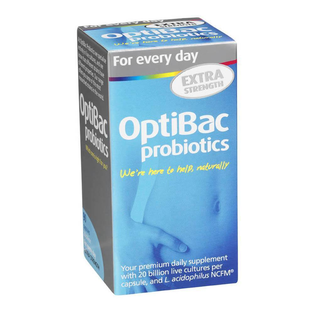 Optibac Probiotics For Every Day EXTRA Strength 20 Billion 90 Capsules - Lifestyle Labs