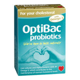 Optibac Probiotics For Your Cholesterol 1.2 Billion 60 Capsules - Lifestyle Labs