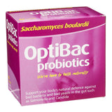 Optibac Probiotics Saccharomyces Boulardii 5 Billion 80 Capsules - Lifestyle Labs