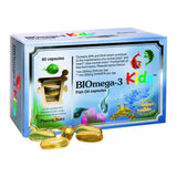 Pharma Nord BIOmega-3 Kids Fish Oil 1000 mg 80 Capsules - Lifestyle Labs