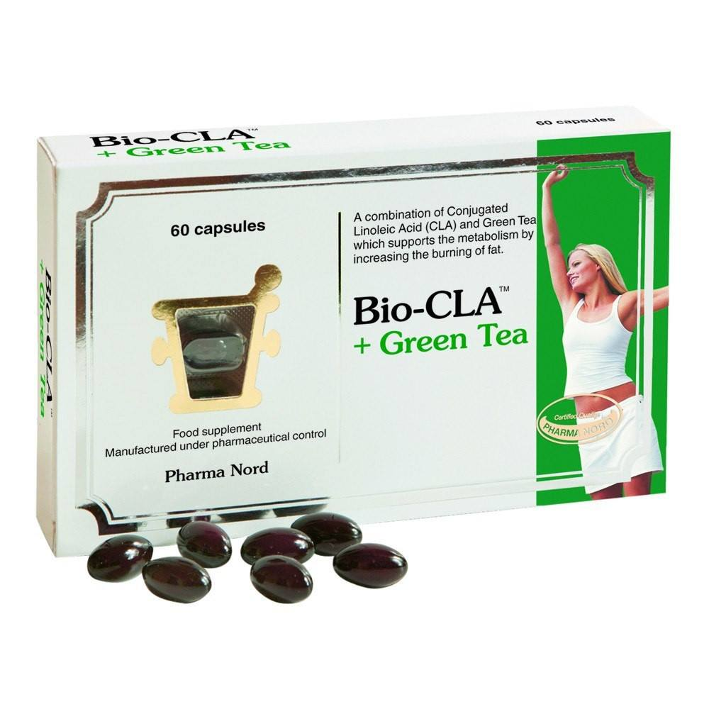VMS - Pharma Nord Bio-CLA 300 Mg And Green Tea 125 Mg 60 Capsules
