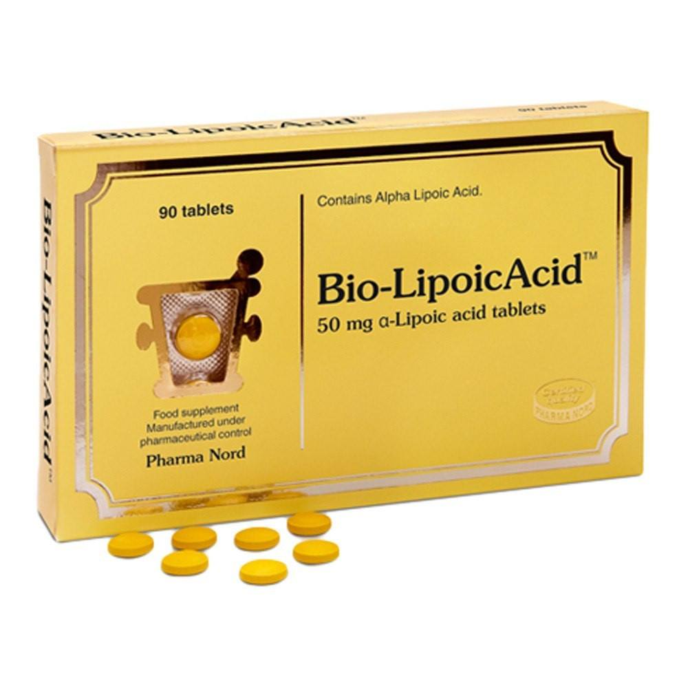 Pharma Nord Bio-Lipoic Acid 30 mg 150 Tablets - Lifestyle Labs