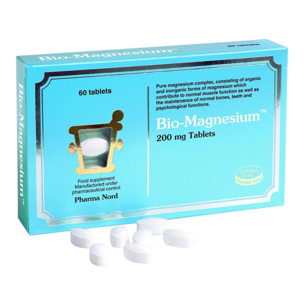 Pharma Nord Bio-Magnesium 200 mg 60 Tablets - Lifestyle Labs