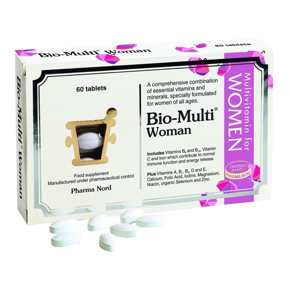 Pharma Nord Bio-Multi Women 60 Tablets - Lifestyle Labs