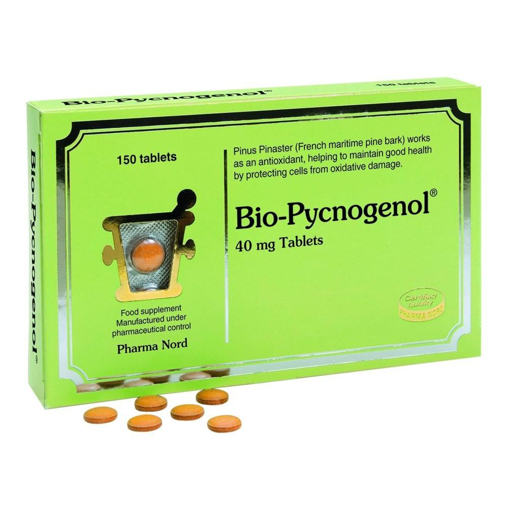 Pharma Nord Bio-Pycnogenol 40 mg 150 Tablets - Lifestyle Labs