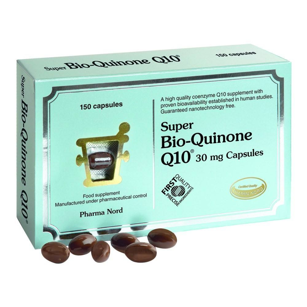 Pharma Nord Bio-Quinone Co Enzyme Q10 Super 30 mg 150 Capsules - Lifestyle Labs