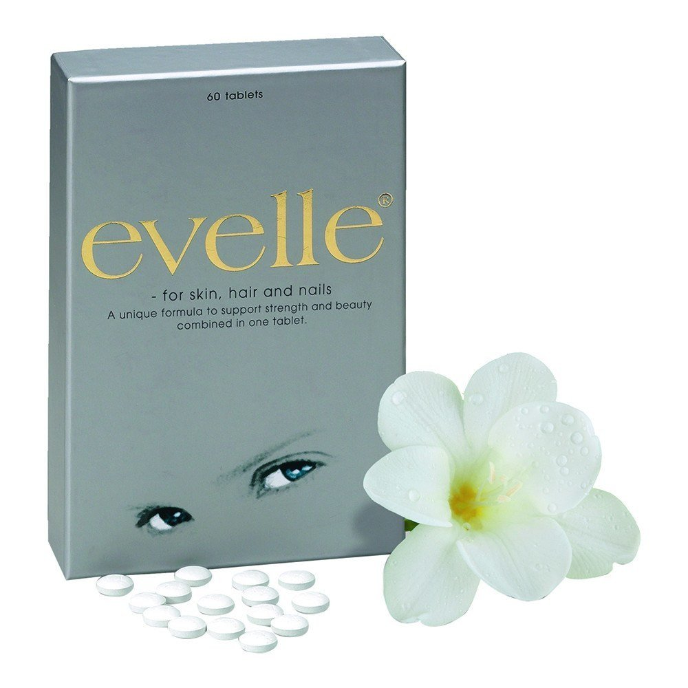 Pharma Nord EVELLE for Skin Hair and Nails 60 Tablets - Lifestyle Labs